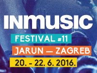 IN music festival, Zagreb 20-22.06.2016